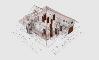 CAD Planung eines Hauses